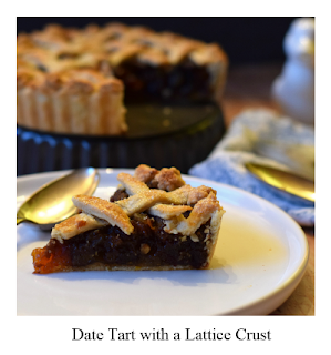 This Date Tart recipe finished with a lattice crust is complemented by apricots, orange and ginger! Not only is it incredibly delicious, it's also easy to make, and once you've watched our quick video you'll be building your lattice crust with confidence!