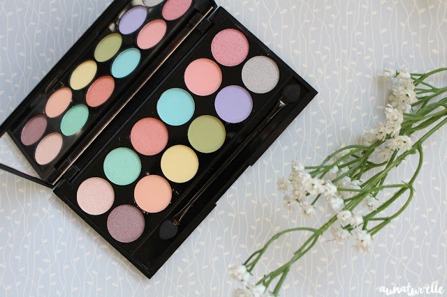 palette sleek i-divine