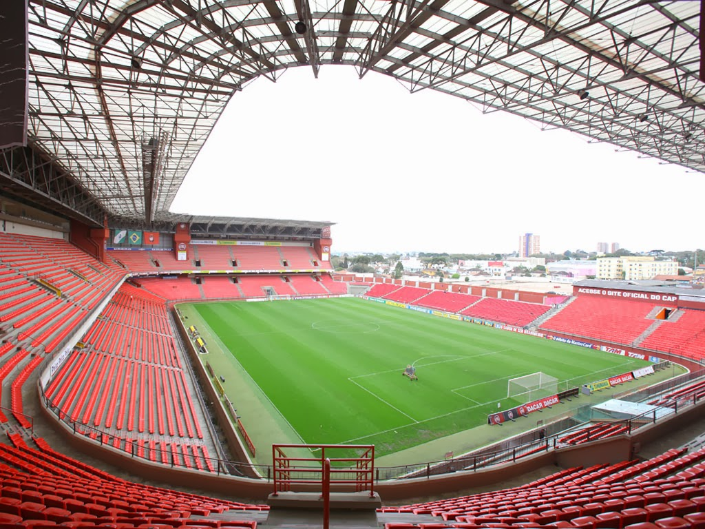 Arena da Baixada - Curitiba - Paraná - Copa do Mundo 2014