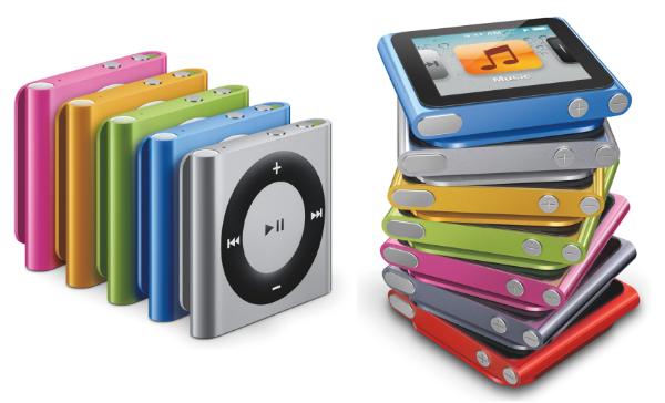 "آبل تعلن رسميا عن تقاعد ""iPod Nano و iPod Shuffle"""