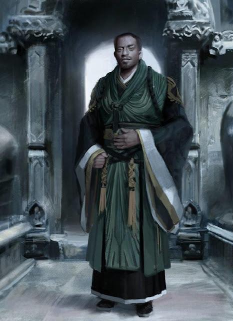 Chiwetel Ejiofor es Karl Mordo en Doctor Strange