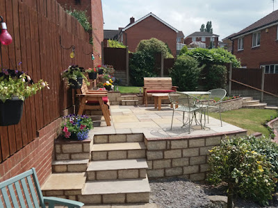 Patio Installation - Central Paving
