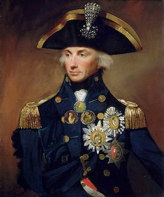 Rear-Admiral Sir Horatio Nelson by Lemuel Francis Abbott , 1799