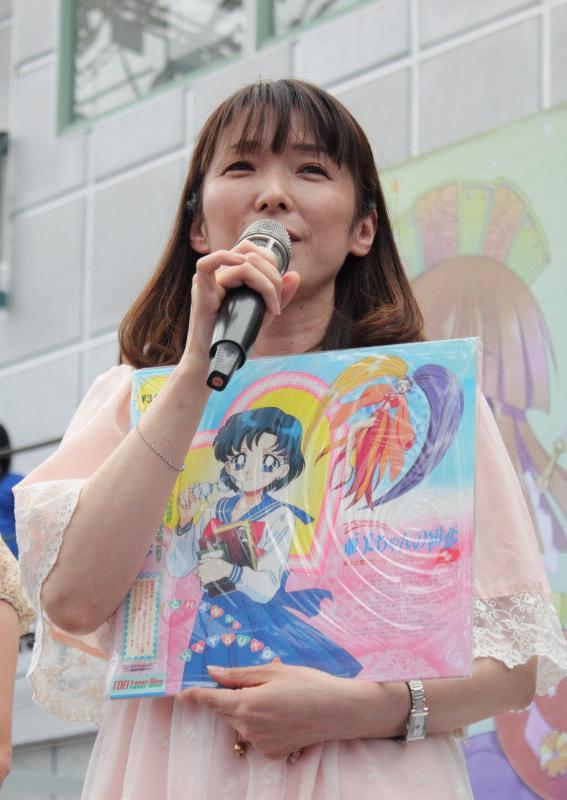 Aya Hisakawa Czarodziejka z Merkurego z Sailor Moon