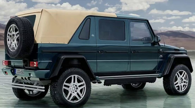 2018 Mercedes SUV G650 Price