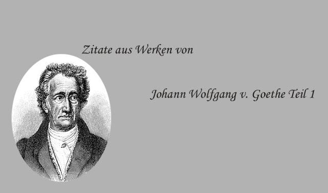 Bildnis von Goethe