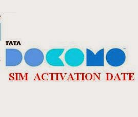 How To Know TATA DOCOMO SIM or Mobile Number Activation Date
