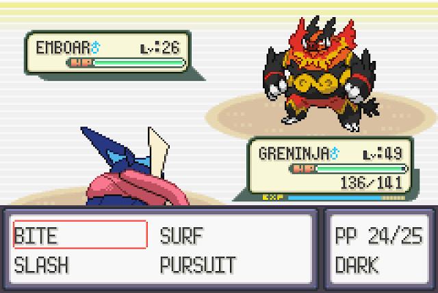 Pokemon Mega Ruby screenshot 2