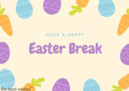 easter greeting card messages