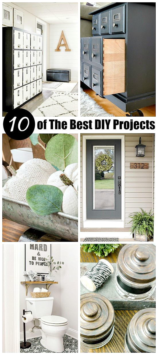 10 of The Best DIY, Home Decor and Craft Projects, best of 2017, home decor, dollar tree,