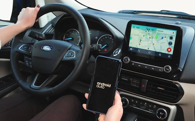 """Ford EcoSport 2018 Titanium - interior - painel - central de 8"""""""
