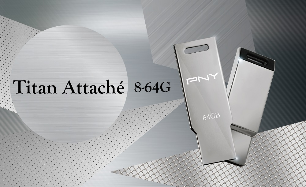 PNY Titan Attaché USB 2.0 Flash Drive