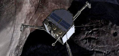 Philae, Pesawat yang Sukses Mendarat di Komet
