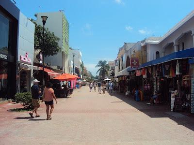 5ª avenida de Playa del Carmen
