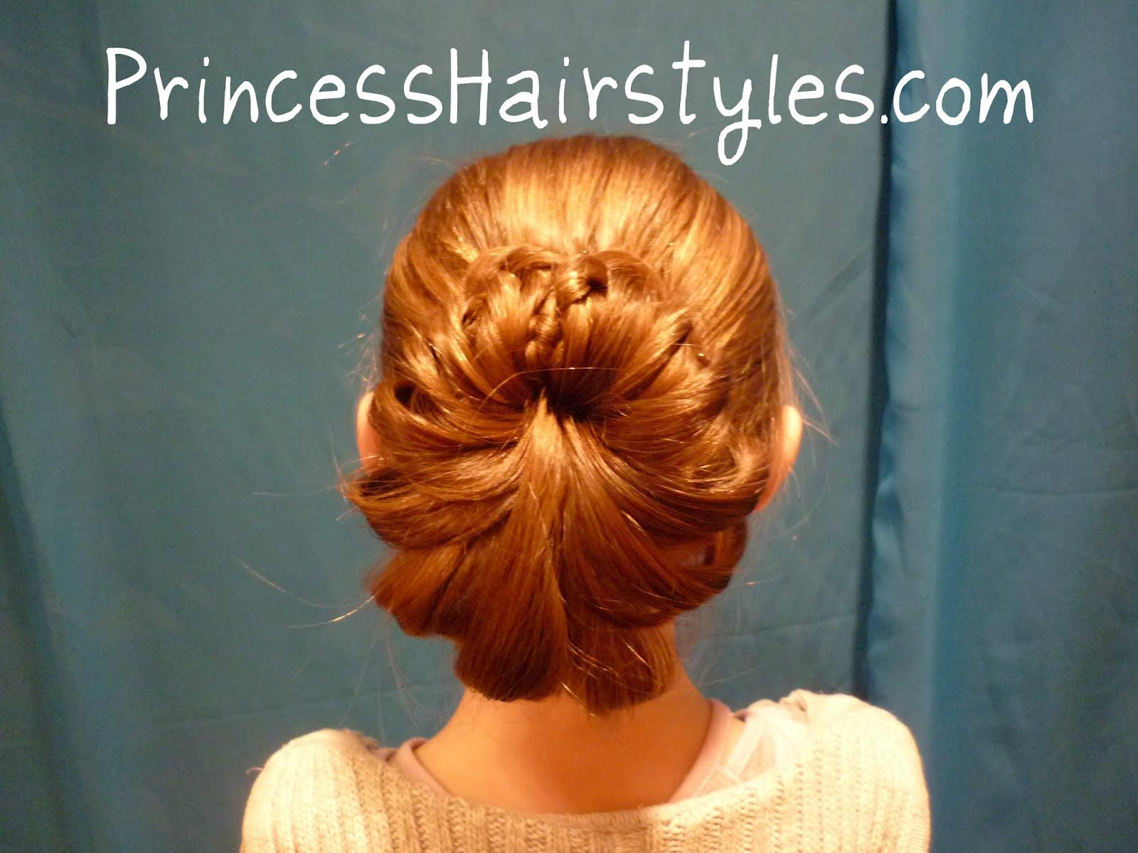 Terrific Braid Wrapped Bun Hairstyles For Girls Princess Hairstyles Short Hairstyles Gunalazisus