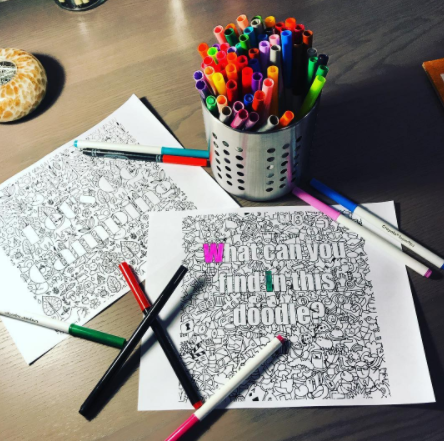Voice Commands Coloring Page - Ultra Coloring Pages | 441x444