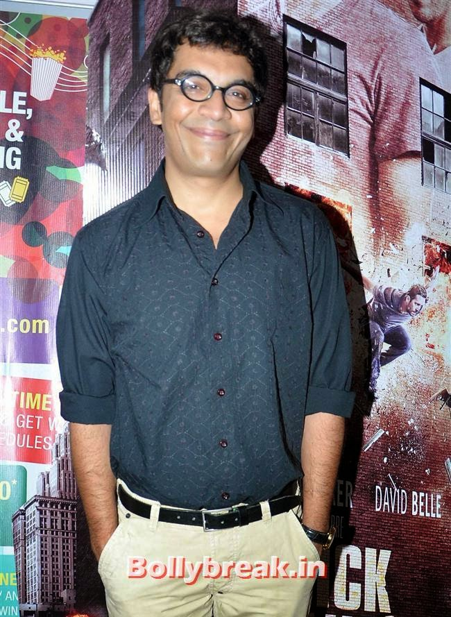 Vrajesh Hirjee at the premiere of 'Ankhon Dekhi' at PVR Juhu, Ankhon Dekhi Movie Premiere Pics