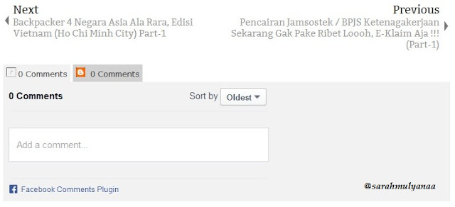 tab komen facebook di blog