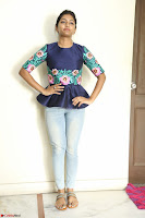 Eesha Looks super cute stunning in Denim Jeans and Top at Darsakudu movie Inerview ~  Exclusive 017.JPG