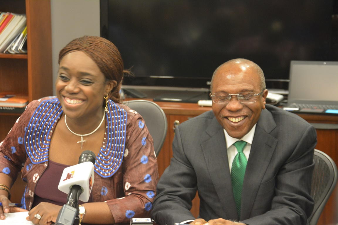 Image result for kemi adeosun and godwin emefiele