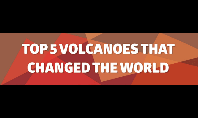 Top 5 Volcanoes that Changed the World