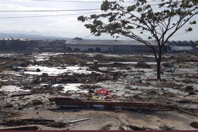 Seribuan Warga Sedang di Pantai Saat Tsunami Terjang Palu