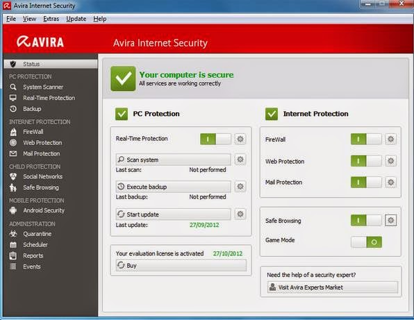 Download Avira Internet Security 2015 14.0.7.342