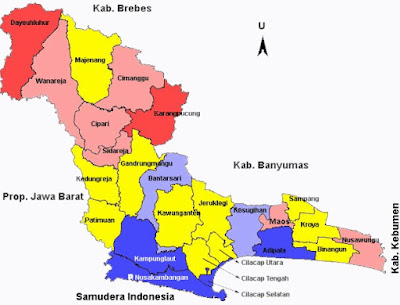 Peta Cilacap