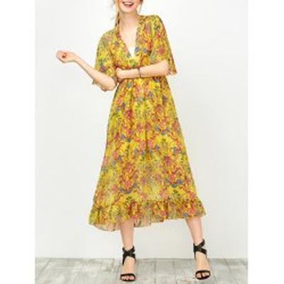 http://www.rosegal.com/print-dresses/floral-printed-empire-waist-dress-1101142.html