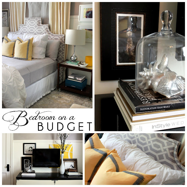 Budget Bedroom Decor: Hunted Interior: Bedroom On A Budget