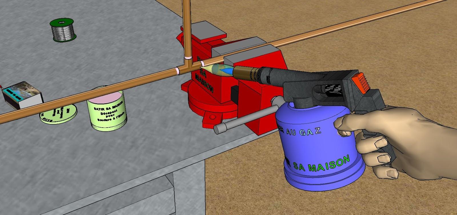 Plomberie comment faire la soudure l 39 etain - Comment nettoyer l etain ...