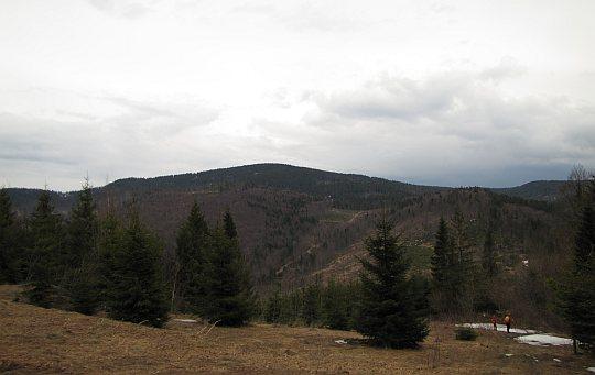 Przełęcz Głuchaczki (słow. Hluchačky, 830 m n.p.m.)