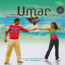 Poster Of Bollywood Movie Umar (2006) 300MB Compressed Small Size Pc Movie Free Download worldfree4u.com