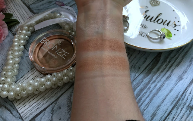primark ps... bronze baked shimmer swatches