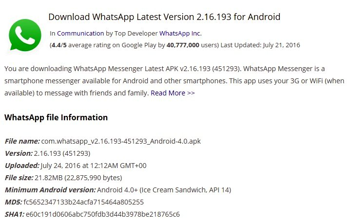 messenger app latest version download free for android