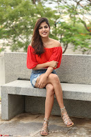 Rhea Chakraborty in Red Crop Top and Denim Shorts Spicy Pics ~  Exclusive 016.JPG