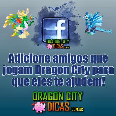 Adicione Amigos que jogam Dragon City