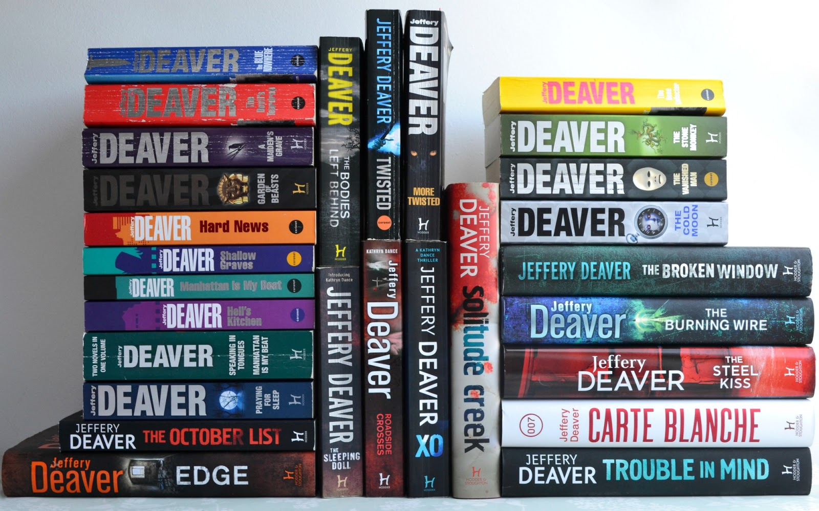 Jeffery Deaver - 28+ Books