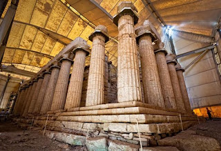 Απεντάχθηκε από το ΕΣΠΑ η χρηματοδότηση αντικατάστασης της τέντας για το ναό του Επικούριου Απόλλωνα