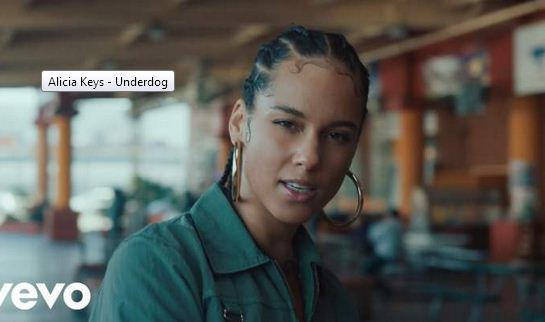 [SB-VIDEO] Alicia Keys - 'Underdog'