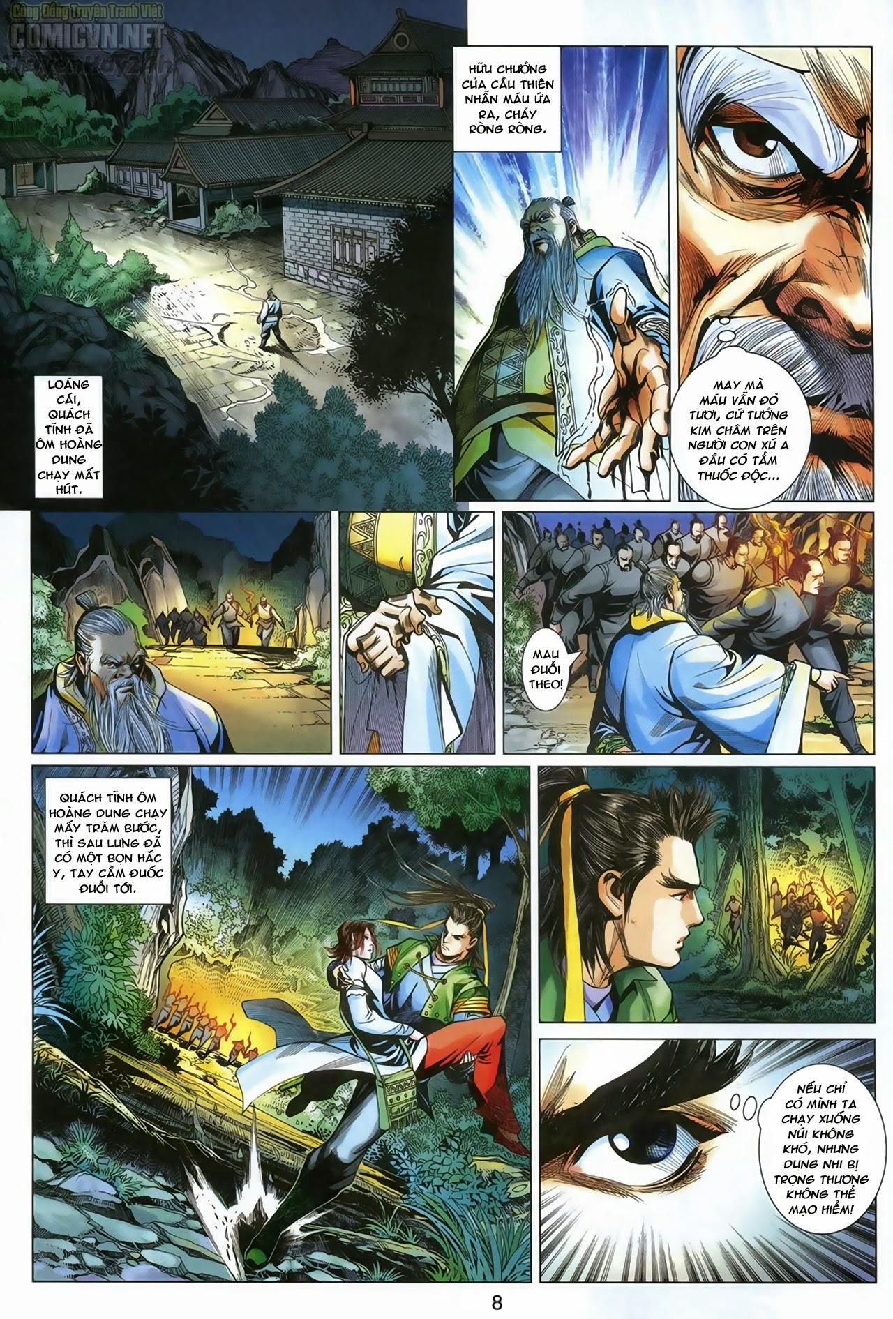 Anh Hùng Xạ Điêu anh hùng xạ đêu chap 69: hồn đoạn thiết chưởng phong trang 9