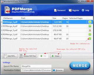 Wonderfulshare PDF Merge Pro Serial, key, lisans, lizenz, register code