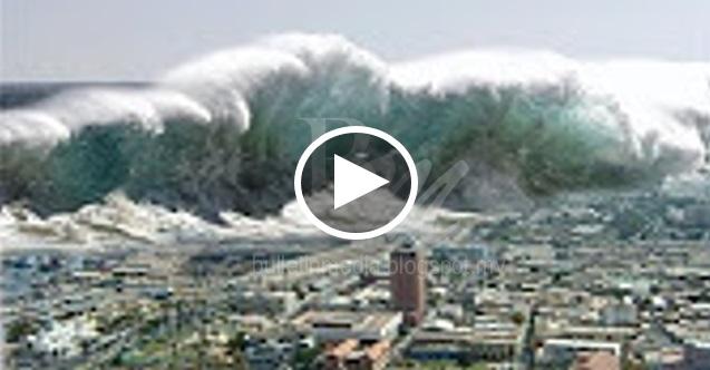 [VIDEO] ALLAHUAKBAR!!! Hebatnya Bencana Tsunami Di Aceh - Indonesia