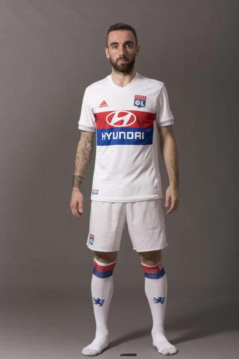 1c70f9a23 Lyon 17-18 Home Kit Released - Leaked Soccer Cleats