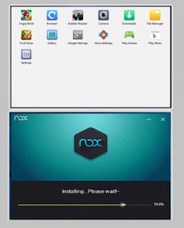 كيفية تحويل الويندوز الى اندرويد-برنامج Nox App Player الكمبيوتر-اللاب توب-محاكاة-نسخة افتراضية