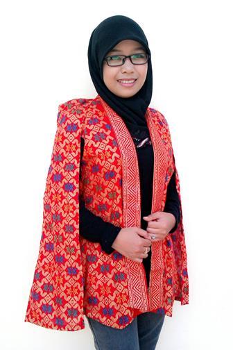 Model Gamis Bolero Batik