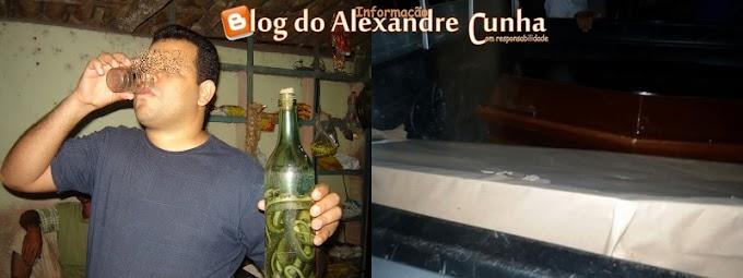 Bebida mortal! Dois amigos morrem após ingerir cachaça com veneno de cobra e extrato de maconha, Santa Quitéria MA