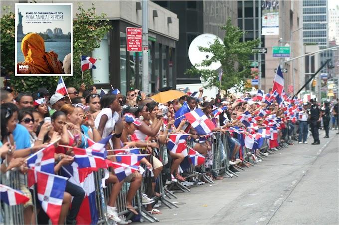 Dominicanos mantienen supremacía entre inmigrantes en Nueva York con 449.338 residentes