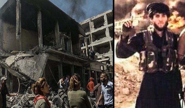 YPG antiteror YAT Qamislo Saldirgani ISİD emirinin öldürdü Deyrezor Derazor