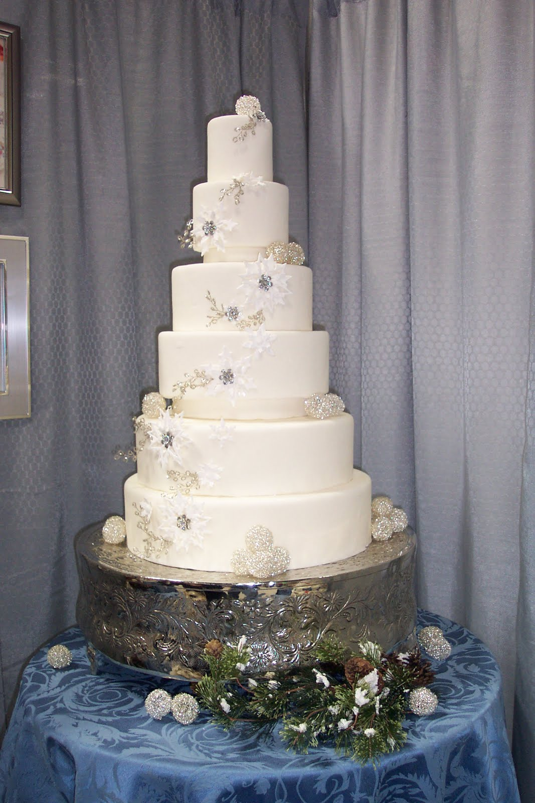 Wedding Cakes Winter Wonderland Cake Ideas Winter